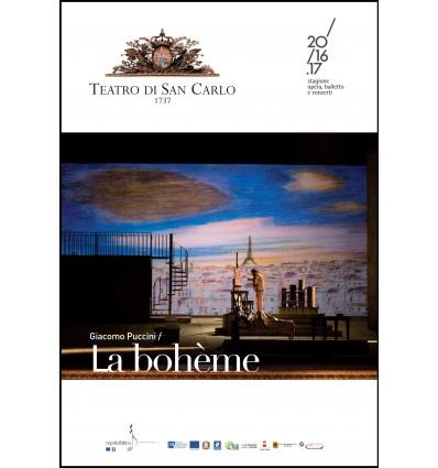 Programma di sala - La Bohème