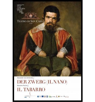 Programma di sala - Der Zwerg ( Il nano) / Il Tabarro