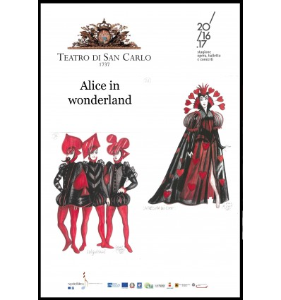 Programma di sala - Alice in Wonderland