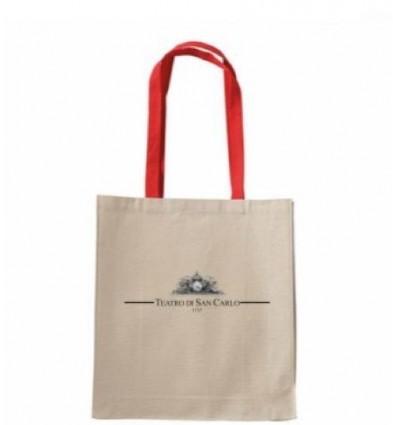 Shopper con manico Rosso - Teatro San Carlo